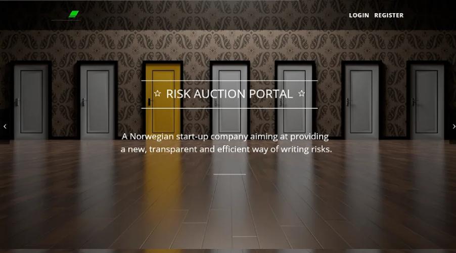 Risk-Auction-Portal