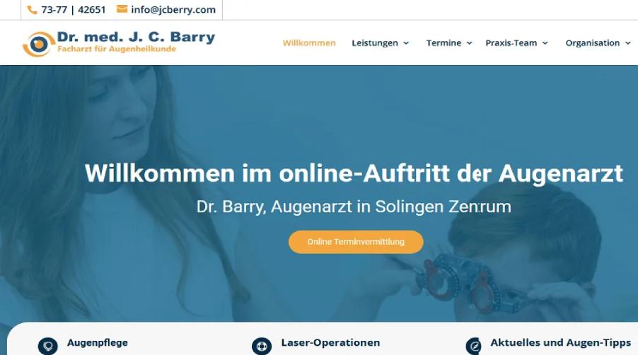 Dr. Barry in Solingen