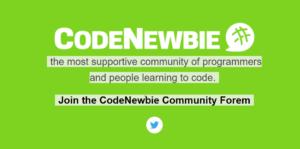 Code Newbie