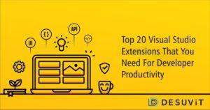 top 20 visual studio code extensions