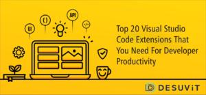 Top20 Visual Studio Code extensions